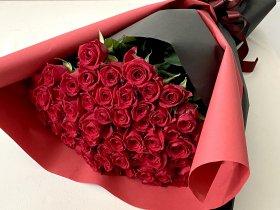 【3本〜108本】赤バラの花束(ご希望の本数でご購入可能)
