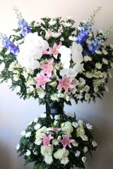 御葬儀用スタンド花(2段)35000