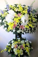 御葬儀用スタンド花(2段)40000
