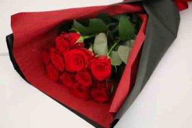 赤バラ10本の花束