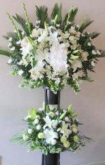 御葬儀用スタンド花(2段)