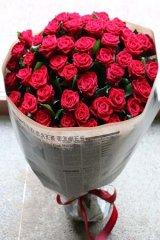 赤バラ50本の花束!25000