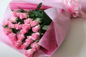 ピンクのバラの花束!8000