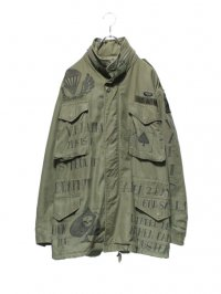 【USED CUSTOM】<br>SCRIBBLE M-65 FIELD JACKET