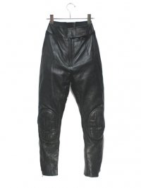 【USED】<br>LEATHER MOTOCROSS PANTS
