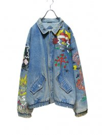 【USED】<br>PAINT CUSTOM DENIM JACKET