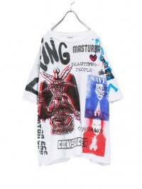 【USED CUSTOM】<br>MULTI ALL-OVER PRINT Tee