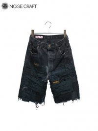 【NOiSE CRAFT】<br>CRUST SHORTS