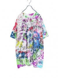 【USED CUSTOM】<br>PAINT CUSTOM Tee