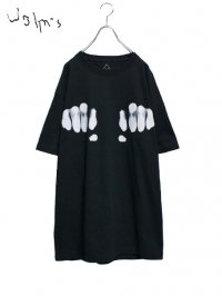 【John's by Johnny】<br>KOBUSHI Tee 2 / BLACK