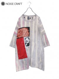 【NOiSE CRAFT】<br>5XL ANARCHY BIG Tee / GRAY