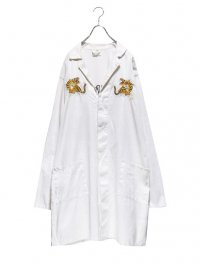 【USED CUSTOM】<br>SOUVENIR EMBROIDERY DOCTOR COAT