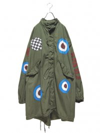 【USED CUSTOM】<br>PAINT CUSTOM M-65 MODS COAT