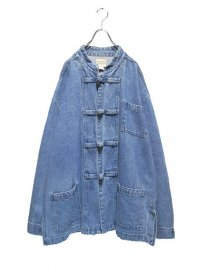 【USED】<br>BIG DENIM CHINA JACKET