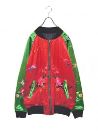 【USED】<br>JAPANESE EMBROIDERY SATIN BLOUSON