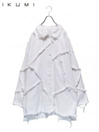 【IKUMI】<br>PATCHED SHIRT