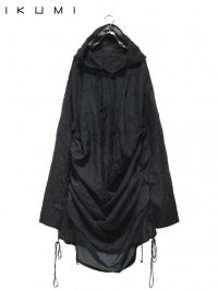 【IKUMI】<br>SEE THROUGH HOODIE