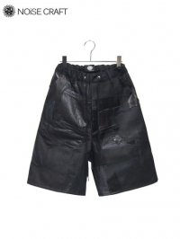【NOiSE CRAFT】<br>廃材 LEATHER SHORT