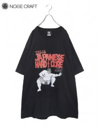 【NOiSE CRAFT】<br>JAPANESE HARD CORE BIG Tee / BLACK