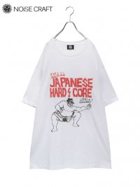 【NOiSE CRAFT】<br>JAPANESE HARD CORE BIG Tee / WHITE