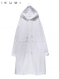 【IKUMI】<br>DENIM COAT / WHITE