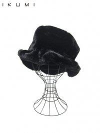 【IKUMI】<br>FUR HAT