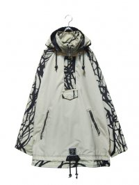 【USED】<br>GRAPHIC DESIGN BIG ANORAK PARKA