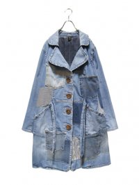 【USED】<br>PATCHWORK CUSTOM DENIM COAT