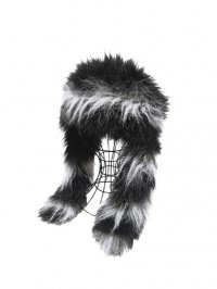 【USED】<br>LONG FUR EARMUFF HAT