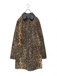 【USED】<br>LEOPARD × LEATHER<br>REVERSIBLE COAT