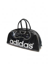 【USED】<br>''adidas''<BR>ENAMEL BOSTON BAG
