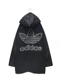【USED】<br>''BOOTLEG adidas''<BR>BOA × QUILTING HOODED JACKET