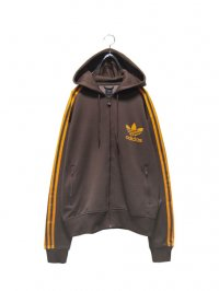 【USED】<br>''adidas'' HOODED TRACK JACKET