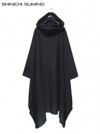 【SHINICHI SUMINO】<br>BIG SQUARE HIGH NECK HOODIE