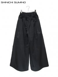 【SHINICHI SUMINO】<br>BACK ZIP DOKAN PANTS
