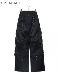【IKUMI】<br>PIERCED DENIM PANTS