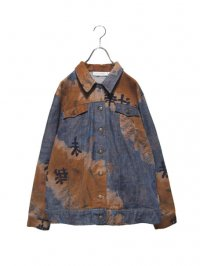 【USED】<br>KANJI × BREACH DESIGN DENIM JACKET