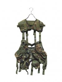 【USED】<br>US ARMY CAMOUFLAGE TACTICAL VEST