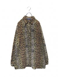 【USED】<br>LEOPARD PATTERN LONG SLEEVE SHIRT