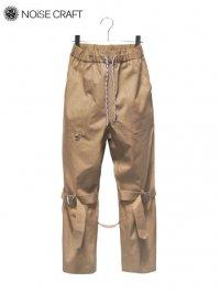 【NOiSE CRAFT】<br>BONDAGE EASY PANTS