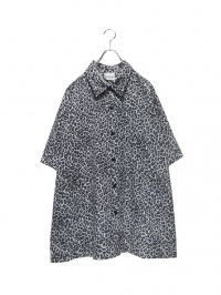【USED】<br>LEOPARD PATTERN SHIRT