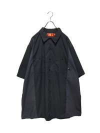 【USED】<br>Dickies SWITCHING SUPER BIG WORK SHIRT