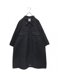 【USED】<br>Dickies SUPER BIG WORK SHIRT