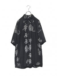 【USED】<br>KANJI PATTERN SHIRT