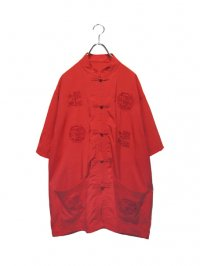 【USED】<br>EMBROIDERY CHINA SHIRT