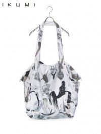 【IKUMI】<br>YOKAI BIG BAG / WHITE