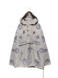 【USED】<br>SYMBOLIC PATTERN HOODIE