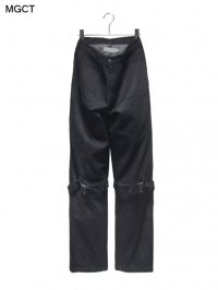 【MGCT】<br>ZIPPERS-OPEN JEANS