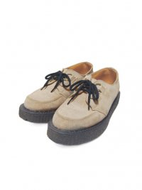 【USED】<br>''GEORGE COX''<BR>RUBBER SOLE SHOES / BEIGE SUEDE