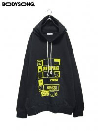 【BODYSONG.】<br>HOODIE / PRESS
